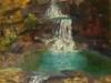 Mitchell Falls - Jill Coulsell - Oil