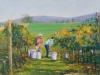 The Grapepickers - Pamela Gordon-Oil